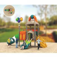 China plastic children's outdoor play equipment outside playground sets on sale