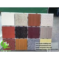 Buy cheap Aluminum wall panel with stone color for building facade cladding 3mm product