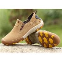 Buy cheap Flat Heel Type Comfortable Trendy Shoes Cow Suede Slip Ons Autumn / Winter product