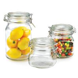 2012 new design glass jar