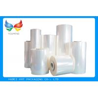 Buy cheap 40 MIC Clear Blown PVC Heat Shrink Film Rolls For Shrink Sleeves product