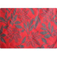 Buy cheap Lightweight Red Jacquard Dress Fabric Apparel Fabric By The Yard product