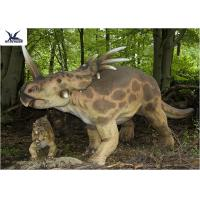 Buy cheap Stomach Breathing Dinosaur Yard Decorations , Life Size Dinosaur Models  from wholesalers