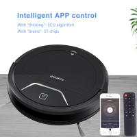 Buy cheap Dry Wet Intelligent Robot Remote Control Vacuum Cleaner With 2000pa Strong Suction and 350 big water tank product