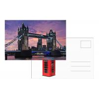 Buy cheap Tourist Souvenir 3D Lenticular Postcard London Landscape 5x7 Inches from wholesalers