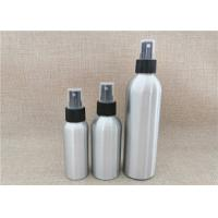 Buy cheap Silver Color Aluminum Cosmetic Bottles For Cosmetic Packaging Custom Size product