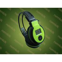 Buy cheap MJ-168 memory Insert card Wireless Headphone/headset product
