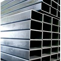 China High Weight Bearing Rectangular Steel Pipe 35mm Od Steel Pipe With Grooves on sale