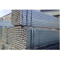 China High Frequency Longitudinal Hollow Steel Pipe , Rectangular Steel Tubing on sale