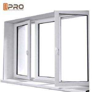 Buy cheap 6063-T5 Profile Aluminum Casement Windows With Double Glazing Customized Size aluminium bifold windows product