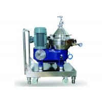 Buy cheap Industrial Used Milk And Cream Separator / Milk Skimming Disc Centrifuge product