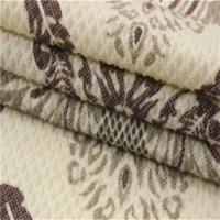 Buy cheap 100 Polyester Bright Upholstery Fabric Embossed With Rubber Patch Fabric product