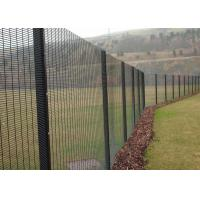 China Black 358 Anti Climb Fence Hot Dipped Galvanized and Powder Coated on sale
