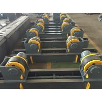 20t Pipe Turning Rolls Conventional Welding Rotator Drive By 1.1kw Motor Power