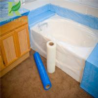 China 8 Mil Low Density Adhesive Clear Acrylic Bathtubs Protective Film on sale