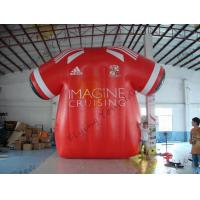 Buy cheap Beatiful Red Inflatable Marketing Products , Rental Inflatable Safety Suit product