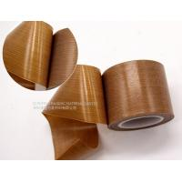 Buy cheap Smooth Surface PTFE  Tape Easy Clean For Shrink Film Packaging / Side Band Sealing product