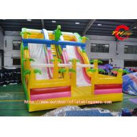 China  Schools Inflatable Outdoor Water Slides , Inflatable Jumping House  for sale