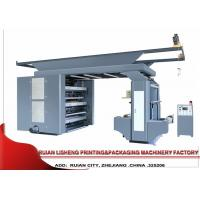 Buy cheap Synchronous Belt Drive System Flexo Printing Machine , 6 Color product