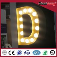 Buy cheap High quality lighted sign letters, 3D sign letters, channel letter ,metal letter sign product