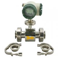 Buy cheap Industrial Electromagnetic Sanitary Flow Meter For Disposal Water product