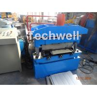 Buy cheap Iron Sheet Metal Roof Cold Roll Forming Machine With Manual Uncoiler Machine product
