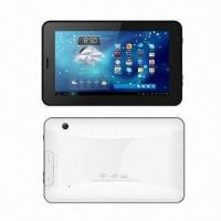 Buy cheap 7-inch Tablet PC with 1.5GHz Frequency, Supports HDMI/Bluetooth/Phone Call/Wi-Fi/3G/Dual Camera product