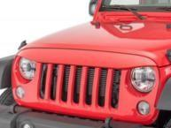 Buy cheap ABS Plastic Jeep Wrangler Eagle Eye Grill Custom Size Maintenance Free product