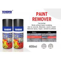 Buy cheap High Efficiency Paint Remover Spray For Quickly Stripping Paint / Varnish / Epoxy product