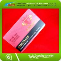 China clear plastic card case on sale