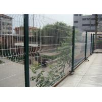 Buy cheap White Color Triangle Bending Wire Mesh For Garden Fence and Courtyard product