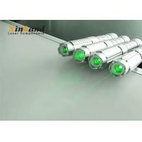 Buy cheap Teaching 520nm Green Laser Pointer /  Strong Laser Pointer Silver Switch product