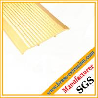 Buy cheap brass extrusion profiles for floor and stairs nosing stair edging trims product