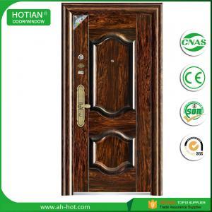 Buy cheap Main Gate Door Single Designs Entrance Steel Door Exterior Swing Door product