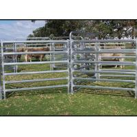 China Dust Proof Galvanized Livestock Panels , Portable Cattle Panels Easy Maintenance on sale