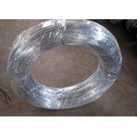 Buy cheap 12 Gauge Low Galvanised Binding Wire Electric Galvanized Loop Type Sliver Color product