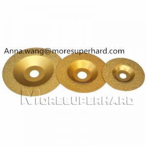 China Vacuum Brazed Diamond Grinding Wheel,vacuum brazed granite edge for stone on sale