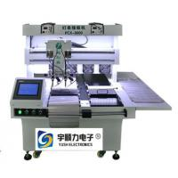 Buy cheap LED Soft Strip Soldering Machine , Multiple Iron Head Double Platform Soldering Equipment product