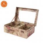 Buy cheap Ladies Jewelry Storage Box Glossy Lamination Finishing Attach Mirror product