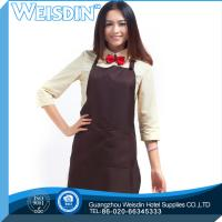Quality Promotional Guangzhou women household kitchen apron promotion aprons for sale
