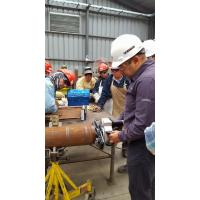 Buy cheap Light Weight End Preparation Pipe With Self Centering Clamping System product