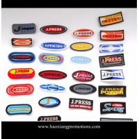 Buy cheap Manufacturer OEM custom design 3D embossed PVC rubber patch,silicone rubber garment badge product