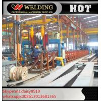 Buy cheap Professional H / I Beam Flange And Seam Welding Line Automatic Welding Machine product