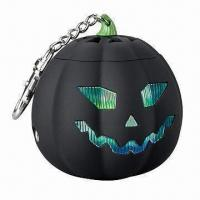 Buy cheap Mini Pumpkin Speaker, Compatible with MP3/MP4 Players, Mobile Phone and MDA product
