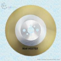 Buy cheap HSS Saw Blade for Cutting Steel and Copper from wholesalers