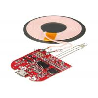 Quality Type C Qi Standard Wireless Charging Transmitter Module For IPhone / Samsung for sale