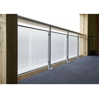 Buy cheap Inox Ferruled 1.2mm Stainless Steel Wire Rope Mesh For Balustrade Infill product