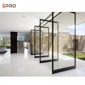 Buy cheap ISO9001 Aluminum Pivot Front Door Entry Hinge Sliding Door Guide product