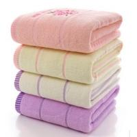 Buy cheap Comfortable Plain Weave Soft Face Towels Decorative With Digital Printing product