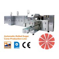 Buy cheap Large Ice Cream Cone Production Line High Efficiency 2.0hp 1.5kW product
